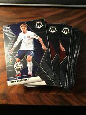 2021 Panini Mosaic UEFA Euro Soccer Base Cards - Select from List