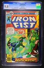 Iron Fist #6 CGC 9.8 White Pages!  Extremely Rare & HTF! (Aug 1976, Marvel)
