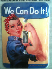 """ROSIE THE RIVETOR"" HEAVY DUTY SWITCHPLATE"