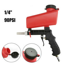 "1/4"" Air Sandblasting Gun Hand Held Sandblaster Portable Shot Media Blasting"