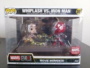Marvel Funko Pop - Whiplash Vs. Iron Man - Marvel Collector Corp - No. 361