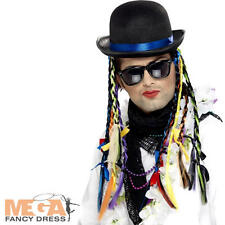Chameleon Boy George Hat Pop 80's Fancy Dress 1980s Costume Accessory Hat