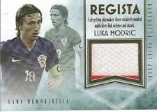 Luka Modric 2018 Futera Regista Game Used Jersey /19 Croatia Real Madrid