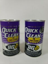 BG QUICK CLEAN for Power Steering System Cleaner Auto Pro  BG 108 PS P/S 2 CANS