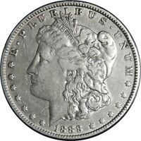 1888-O $1 MORGAN SILVER DOLLAR VF+ DETAILS CLEANED DDO HOT LIPS VAM-4 041021173
