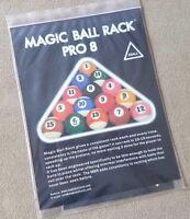 New Magic Rack Pro Set 8 9 & 10 Ball Magic Rack, The Original! Free Shipping!