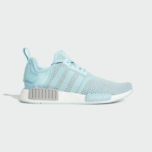 Adidas Originals NMD_R1 Men's Running Shoes 'Hazy Sky' Blue White H01918 Sz 10.5