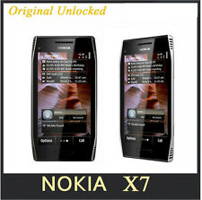 "X7 Original unlocked Nokia X7-00 mobile phone GPS WIFI 8MP 4.0"" Touchscreen 3G"