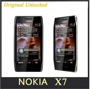X7 Original Unlocked Nokia X7-00 GPS WIFI 8MP Touchscreen 4.0 in 3G Mobile Phone