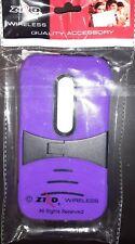 For Motorola Moto G 3rd Gen Hard Gel Rubber KICKSTAND Case Phone Cover Accessory