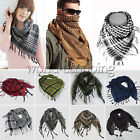 Lightweight Military Arab Tactical Fringe Army Shemagh KeffIyeh Scarf Shawl Wrap