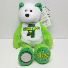 Mississippi Limited Treasures Coin Bear Beanie State Quarter #20 Retired Mint