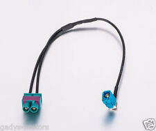 Radio Fakra Aerial Adaptor (Z) Socket - double Fakra Plug VW SEAT SKODA AUDI UK