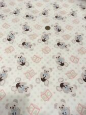Abc Teddy Bears Picnic 100% Cotton quilting craft Fabric Freedom