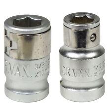 "3/8"" y 1/2"" 10mm Portabrocas de destornillador hexagonal hembra adaptadores"