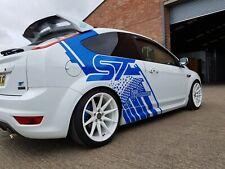 Ford Focus a Medida St Diseño Coche Pegatina de gráficos Sport garajes Calcomanía Bonito Diseño