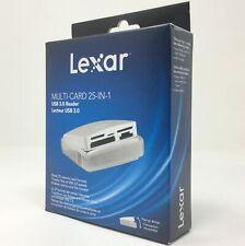 Lexar Multi Card USB 3.0 Memory Card Reader Micro SD/SDHC/SDXC CF XD MS Pro M2