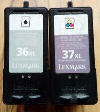 Empty Lexmark XL ink cartridges x8