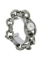 Nixon A161 130 Alice Women's Oval Brushed Silver Tone Bangle Analog Watch