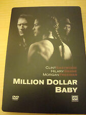 2 DVD FILM MILLION DOLLAR BABY EASTWOOD SWANK FREEMAN STEEL BOX