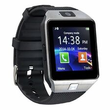 "2017 NewW-09 1.54""Touch Screen Watch Phone Unlock Quad band Bluetooth Cell Phone"
