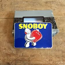 Nos Vintage Snoboy Produce Fruits And Vegetables Enamel Belt Buckle Grocery
