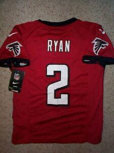 *IRREGULAR* Atlanta Falcons MATT RYAN nfl NIKE Jersey Youth Kids Boys (s-small)