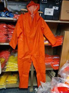 Angus Hi Vis oil skin full suit hood Waterproof size small fishing wenaas