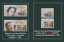 Rumänien 2017 Tag der Briefmarke,Orden,1.Weltkrieg Mi.NEU ** aus KB+Bogen,R A R
