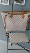 Louis Vuitton shoulder tote bag beige