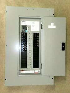 NEW! SIEMENS P2 LOCKING ELECTRIC LIGHTING PANEL W/BREAKERS P2C30NB100ATS 250A VN