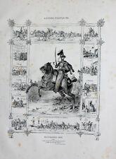 Frankreich Husar Husaren Hussar Uniform Kolpak Tschako Attila Mente Pelz Ungarn