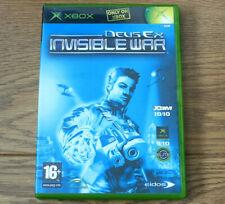 Deus Ex Invisible War for Xbox Original PAL Region 2