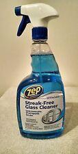 Zep Streak-Free Glass Cleaner Spray Bottle 32 Oz case of 12 bottles