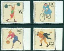 GERMANY SCOTT #'s B701-B704, SPORTS, 4 VALUES, MINT, OG, NH, GREAT PRICE!