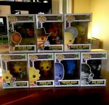 Funko Pop Simpsons Treehouse Of Horror 2019 Full Set Inc SDCC EXCLUSIVES 7 Pops
