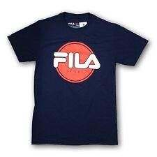 FILA Men's Navy Blue Short Sleeve T-shirt New With Tags
