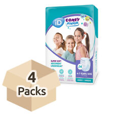 iD Comfy Junior Pants (4-7 Years) - Case - 4 Packs of 14