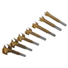 Silverline 12mm-35mm Forstner Hole Boring Cutter Wood Drill Bit Set 7 Piece
