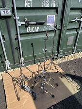 Free P&P. Ludwig Drum Kit Hardware Snare Hi Hat, 2 Cymbal Stands  HW103295