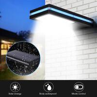 Ee _ 144LED Solar Sensor de Movimiento Jardín Lámpara Seguridad Agua Luz Suspiro