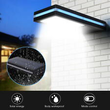 EE_ 144 LED Solar Power Motion Sensor Garden Security Lamp Waterproof Light Sigh
