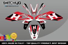 KIT ADESIVI GRAFICHE 2.0 RED EASY per moto SM 610 dal 2005 al 2010