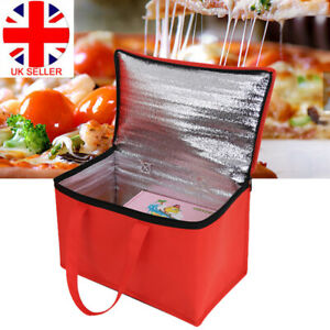 Delivery Insulated Bags Food Pizza Takeaway Thermal Warm/Cold Bag Ruck Hot Sale