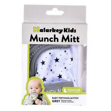 Malarkey Kids Munch Mitt Teething Mitten - Grey Stars