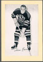 1944-63 Beehive Hockey Premium Group 2 Chicago Blackhawks #83 Adam Brown