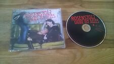 CD Pop Rosenstolz - Liebe ist alles (1 Song) Promo POLYDOR