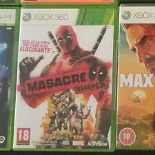 Pal Esp MASACRE ( DEADPOOL ) Xbox 360 xbox360 ESPAÑA