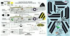 SUPERSCALE DECALS 1/32 P-47N Thunderblot 73rd FS 318th FG 7th AF noseart (USAAF)