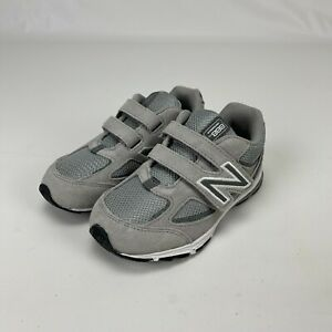 New Balance Toddler Boys Girls 888 V2 Grey Hook & Loop Running Shoes Size 10